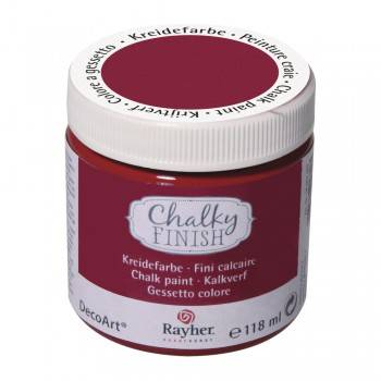 Křídová barva Chalky Finish (118ml) - DOPRODEJ!: 297 Burgundská - Barav Chalky Finish (118ml)