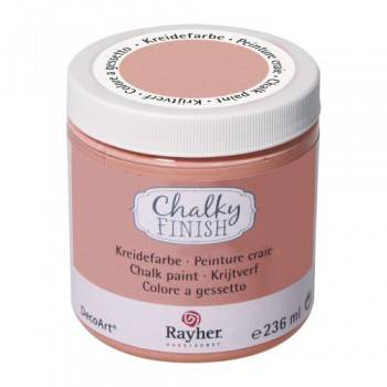 Křídová barva Chalky Finish (118ml) - DOPRODEJ!: 204 Aprikot - Barva Chalky Finish (118ml)