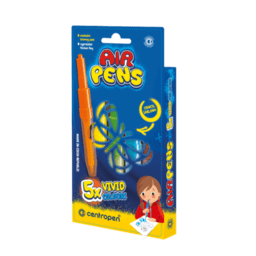 Foukací fixy AirPens - sada 5ks: Foukací fixy - VIVID