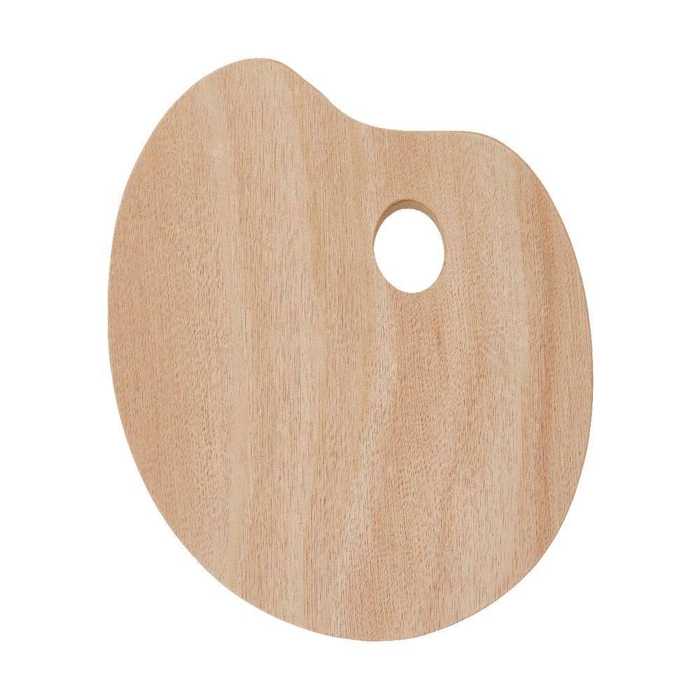 Malířská paleta dřevěná ovál 18x24cm