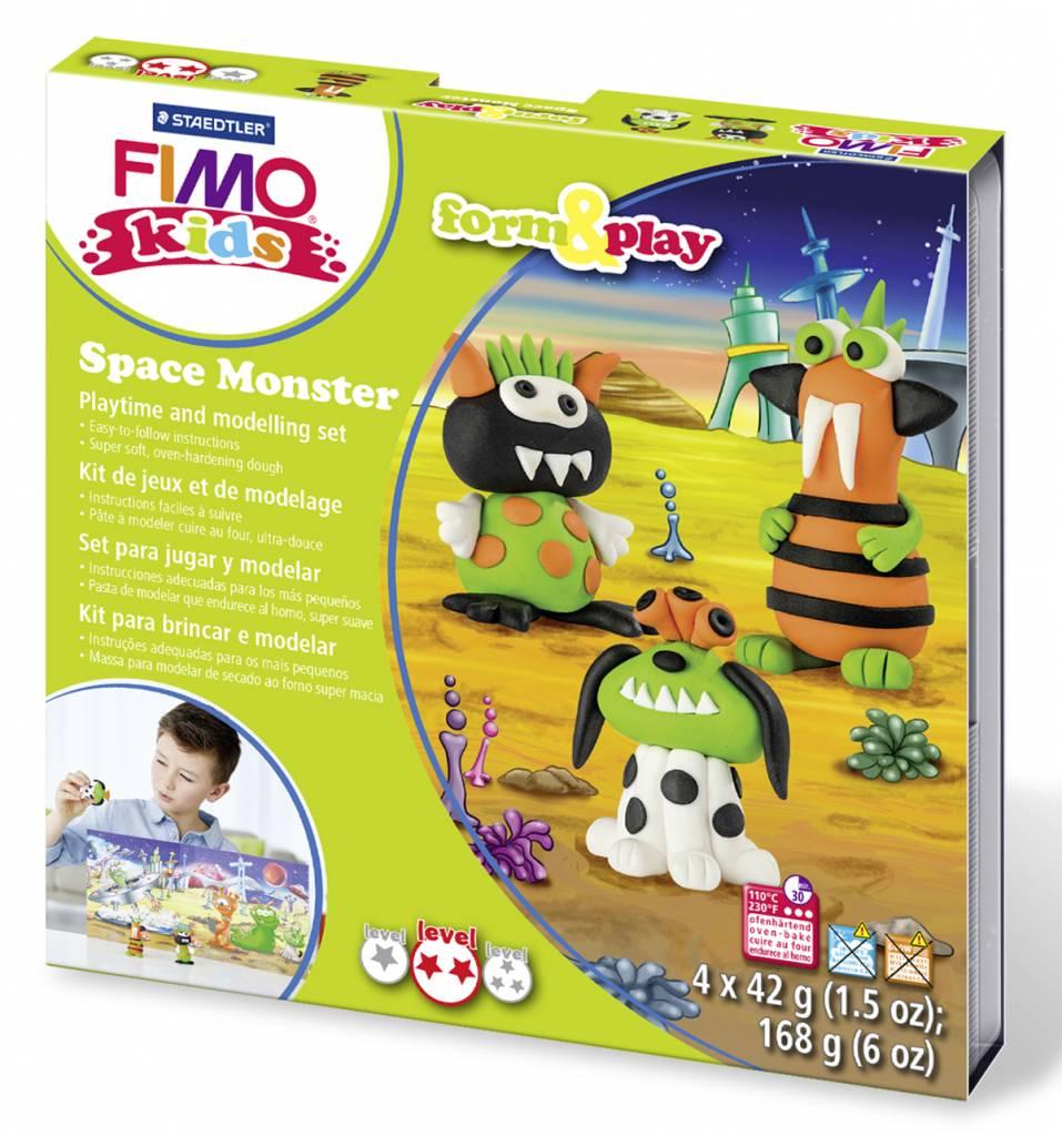 Sady Fimo KIDS Staedtler: Vesmírné příšerky - Sada Fimo Kids