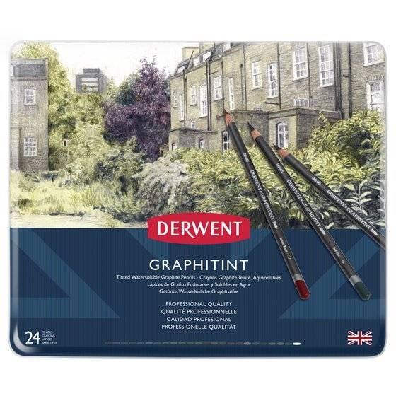 Barevné grafitové tužky Graphitint 24ks