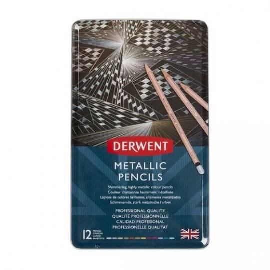 Pastelky Metallic 12ks