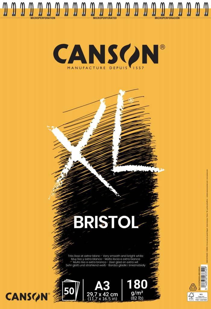 Blok XL Bristol A3 180g/m2