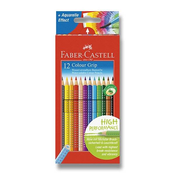 Pastelky Colour Grip Faber-Castell 12ks
