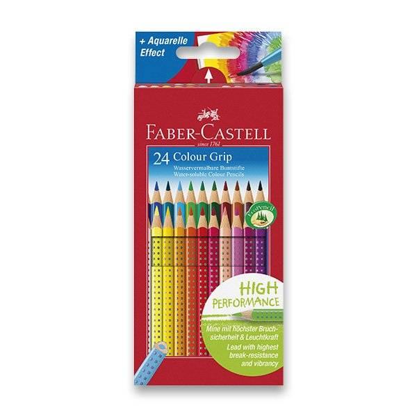 Pastelky Colour Grip Faber-Castell 24ks