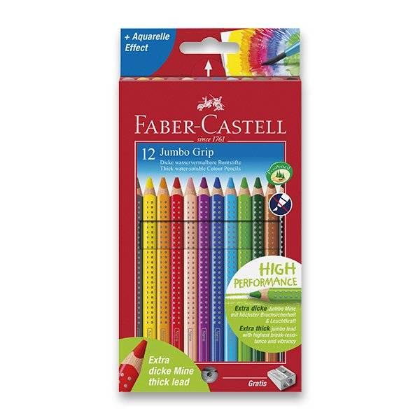 Pastelky JUMBO Grip Faber-Castell 12ks