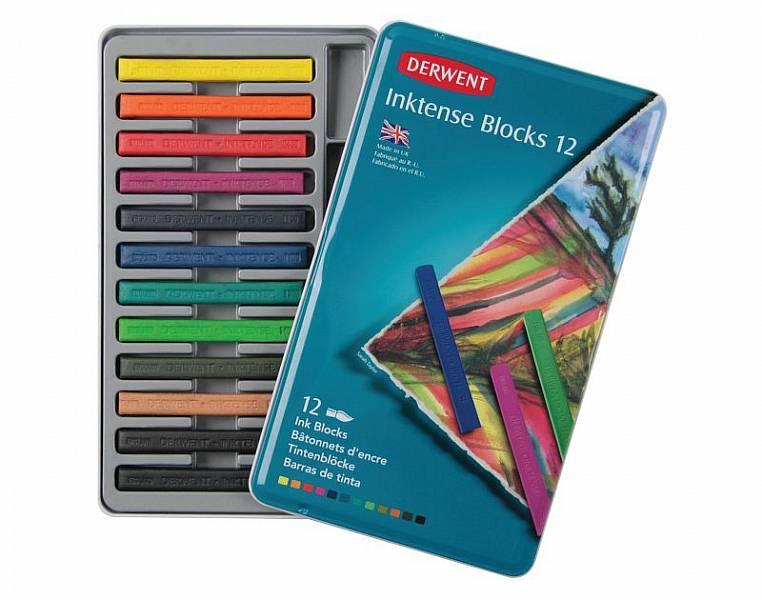 Akvarelové bloky Inktense Blocks 12ks