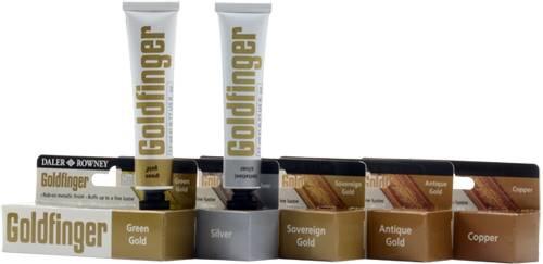 Goldfinger metalická pasta: Green gold