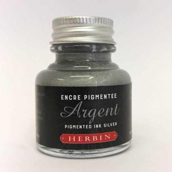 Pigmentový inkoust stříbrný 30ml