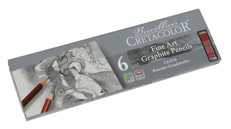 Sada grafitových tužek Cleos 6ks