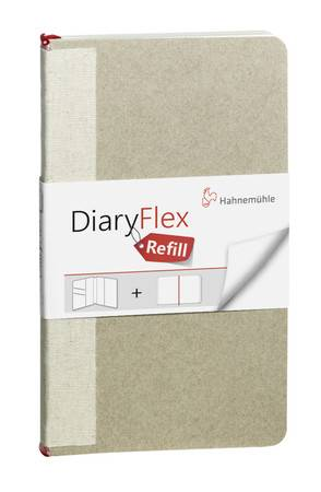Náhradní blok do DiaryFlex 10,4x18,2cm - čistý