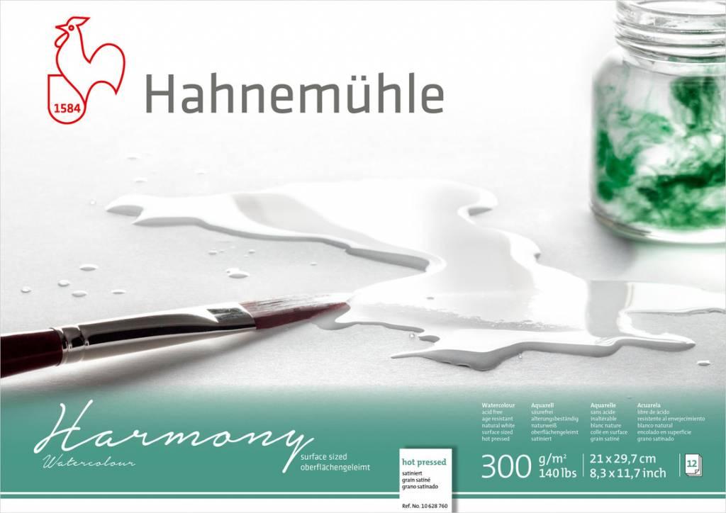 Akvarelový blok Harmony A4 - za tepla lisovaný