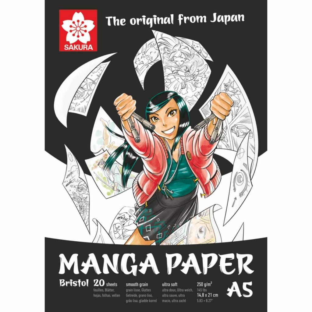 Skicák Manga A5 Sakura