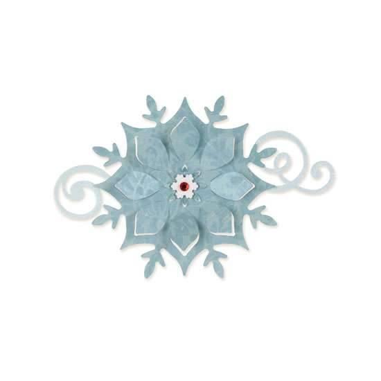 Vyřezávací šablona Sizzix Bigz - Sněhová vločka