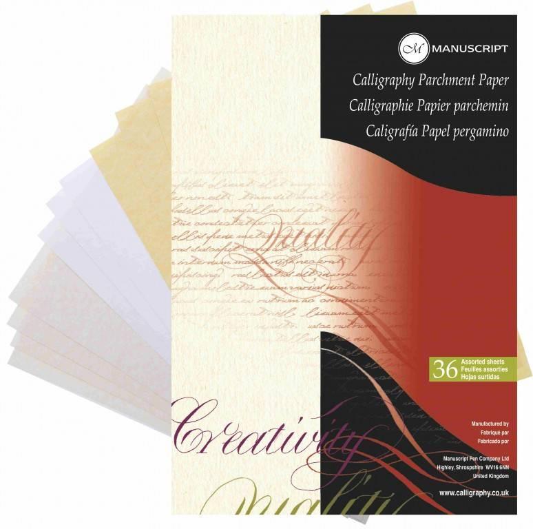 Blok na kaligrafii Manuscript A4