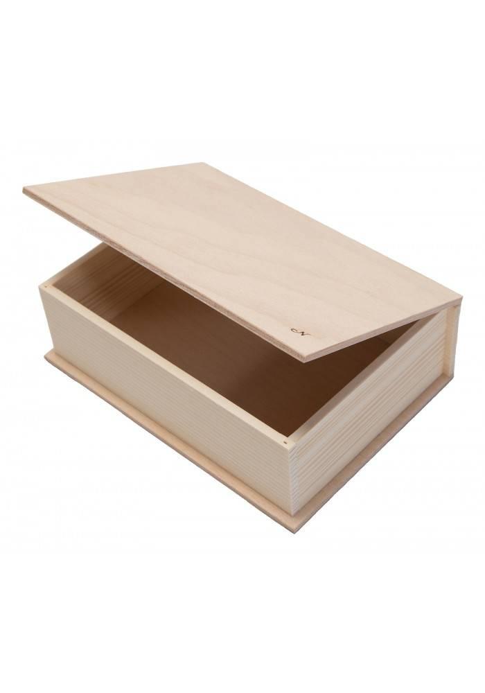 Dřevěná krabička velká 21x15cm