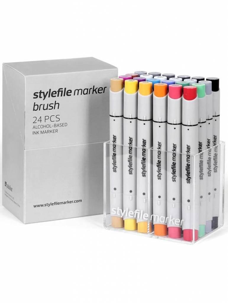 Stylefile fixy Brush Main A set - 24ks