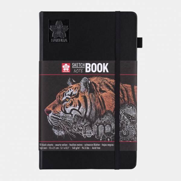 Sakura Sketch NoteBook 13x21cm černý