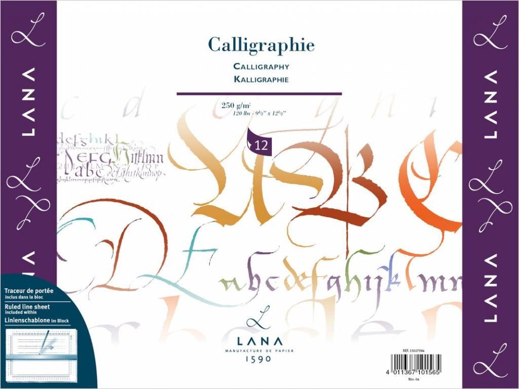 Blok na kaligrafii Lana 30x40cm