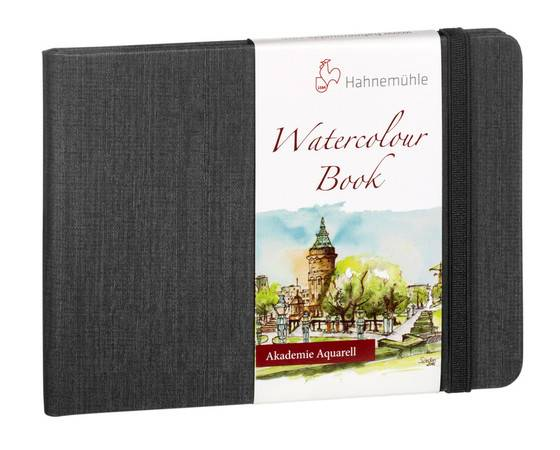 Watercolour Book A6 na šířku
