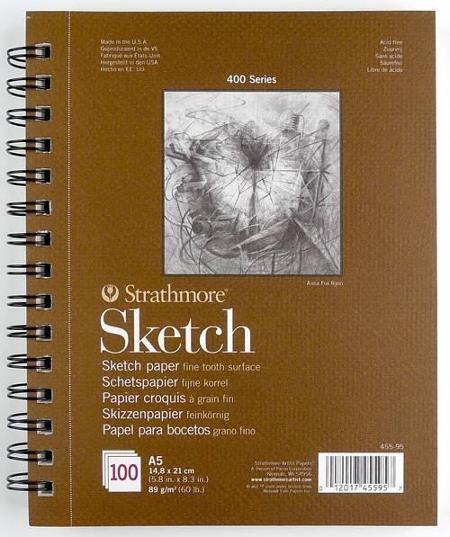 Skicák Sketch A5