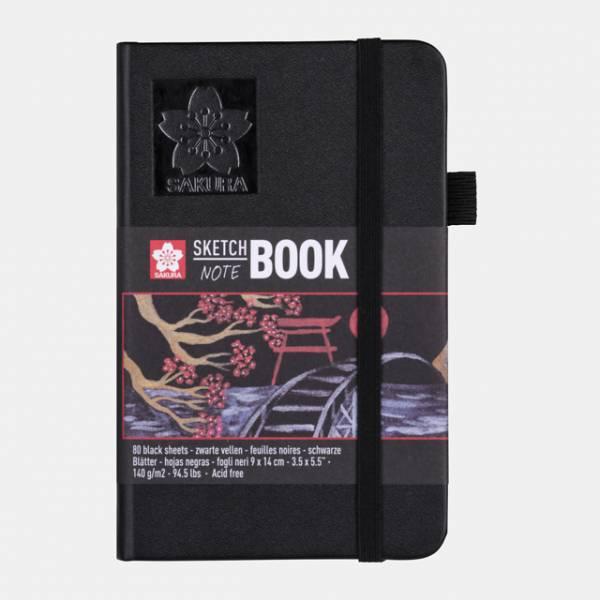 Sakura Sketch NoteBook 9x14cm černý