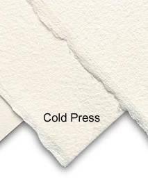 Akvarelový papír 56x76cm 300g/m2: Akvarel. papír - za studena lisovaný (Cold pressed 10627150)