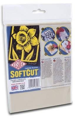 Lino SoftCut 20x15cm - 2ks