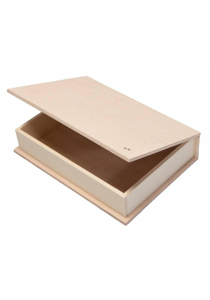 Dřevěná krabička střední 21x15cm