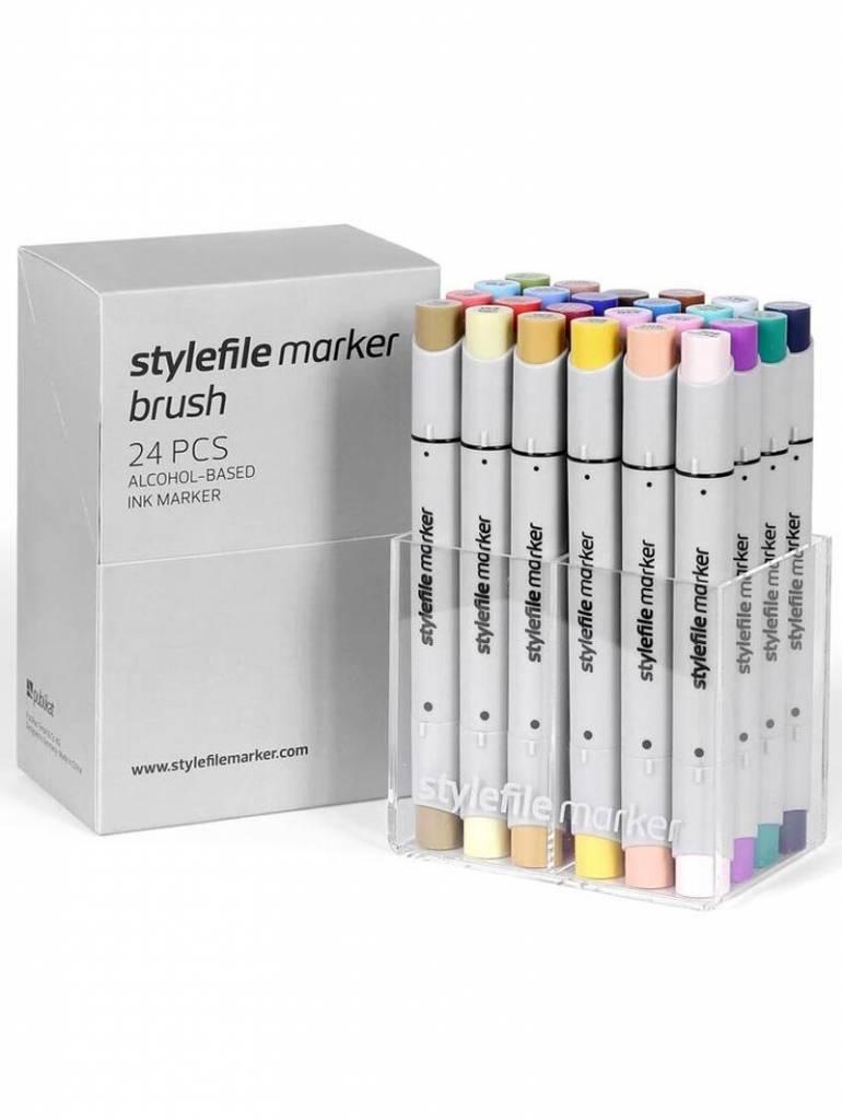 Stylefile fixy Brush Main B set - 24ks