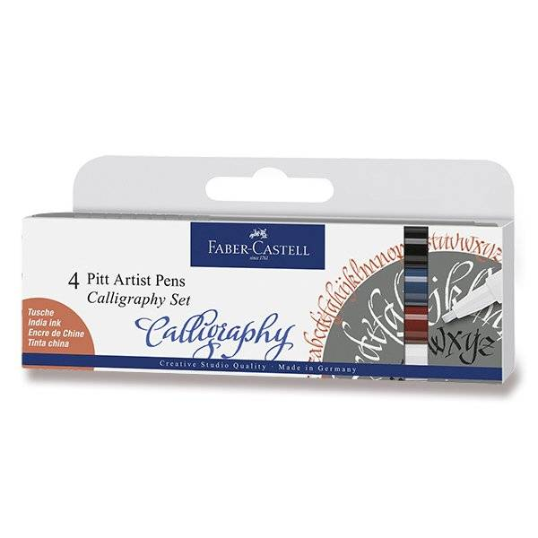 Sada Pitt Artist Pens Calligraphy 4ks: 167504 Sada Pitt Artist Pens Calligraphy 4ks