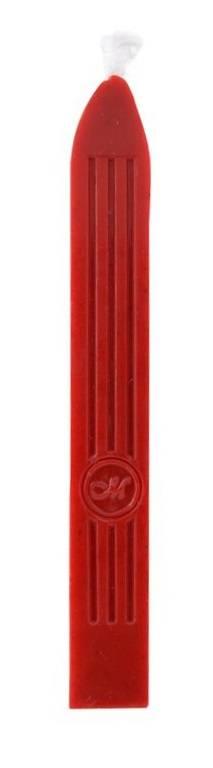 Pečetní vosk s knotem 1ks: Pečetní vosk - Červený (MSH763BRW)