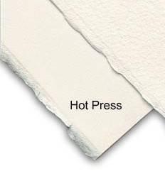 Akvarelový papír 56x76cm 640g/m2: Akvarel. papír - za tepla lisovaný (Hot pressed 10627172)
