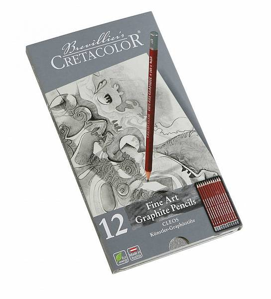 Sada grafitových tužek Cleos 12ks