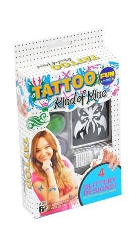 Tetování se třpytkami