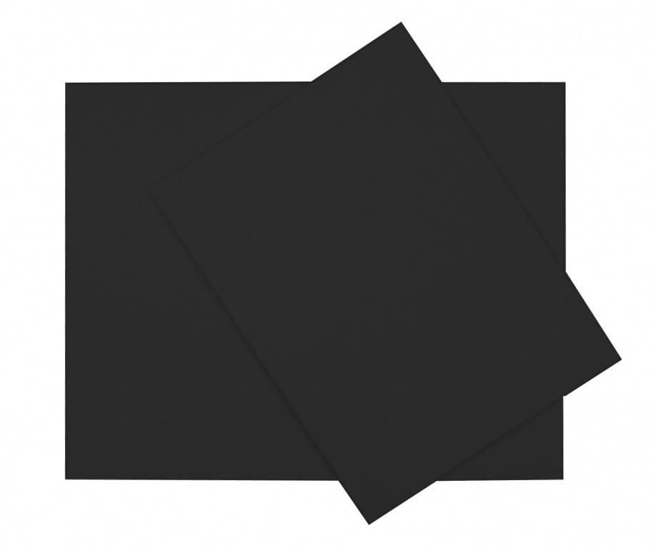 Šepsovaná lepenka černá 24x30cm