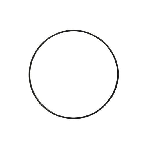 Kovový kruh černý 20cm
