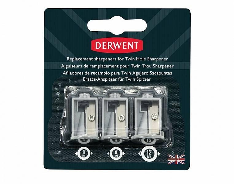 Náhradní nože pro bateriové ořezávátko Derwent